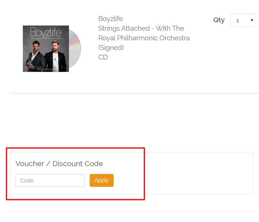 How do I use my Townsend Music discount code?