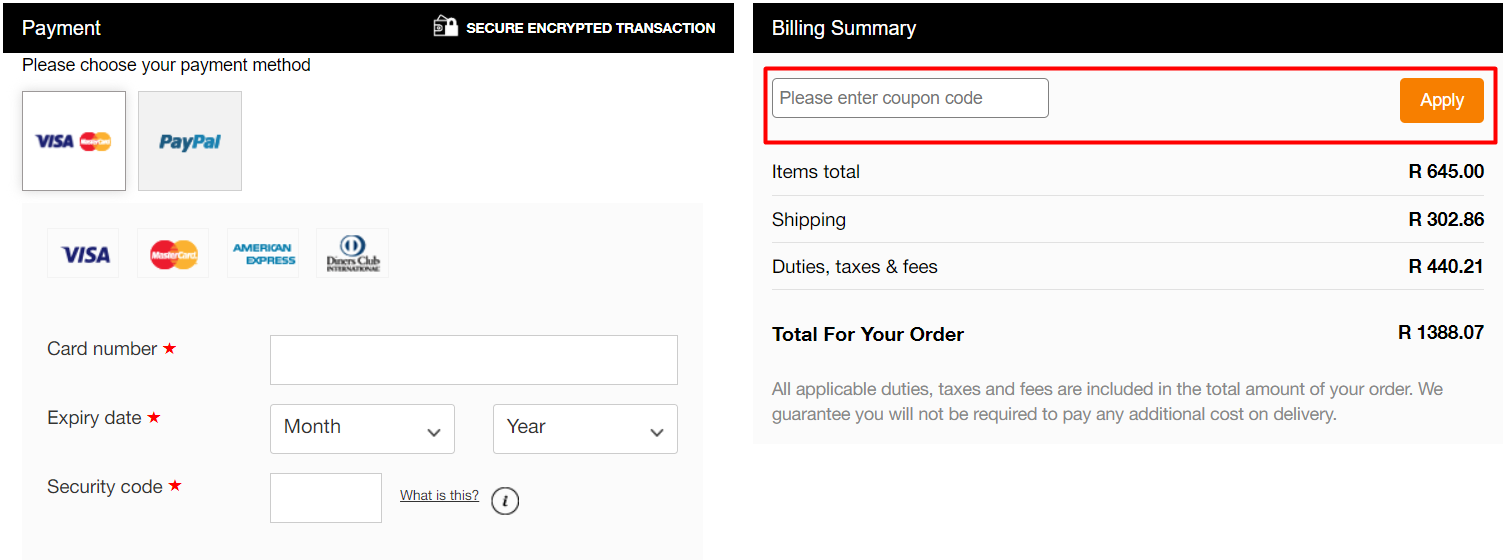 How do I use my Jed North coupon code?