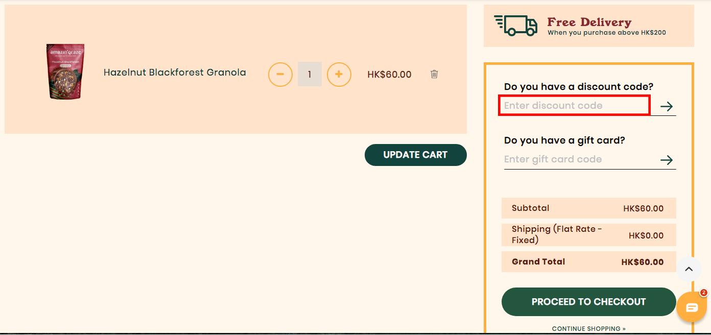 Amazin' Graze HK Discount Code