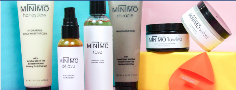 About Minimo Skin Essentials Homepage