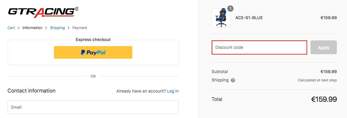 GTRacing Discount Code