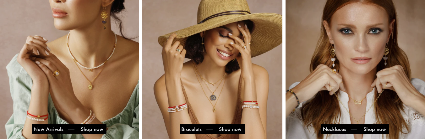 Karma and Luck women's jewellery