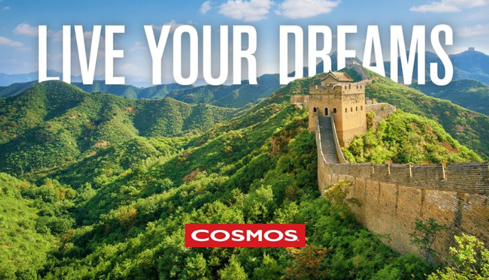 About Cosmos homepage