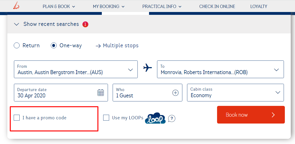 How do I use Brussels Airlines discount code?