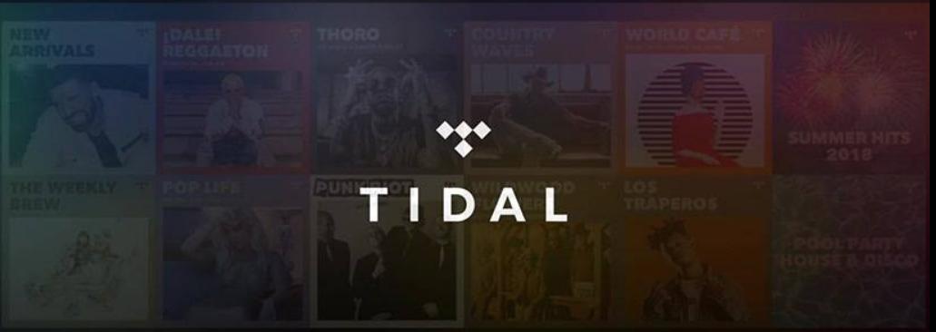 TIDAL Homepage