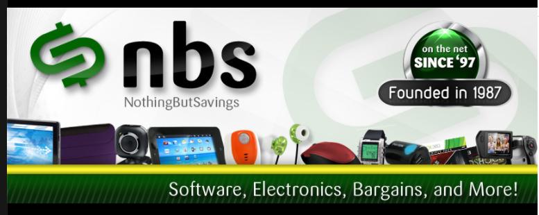 About NothingButSavings.com Homepage