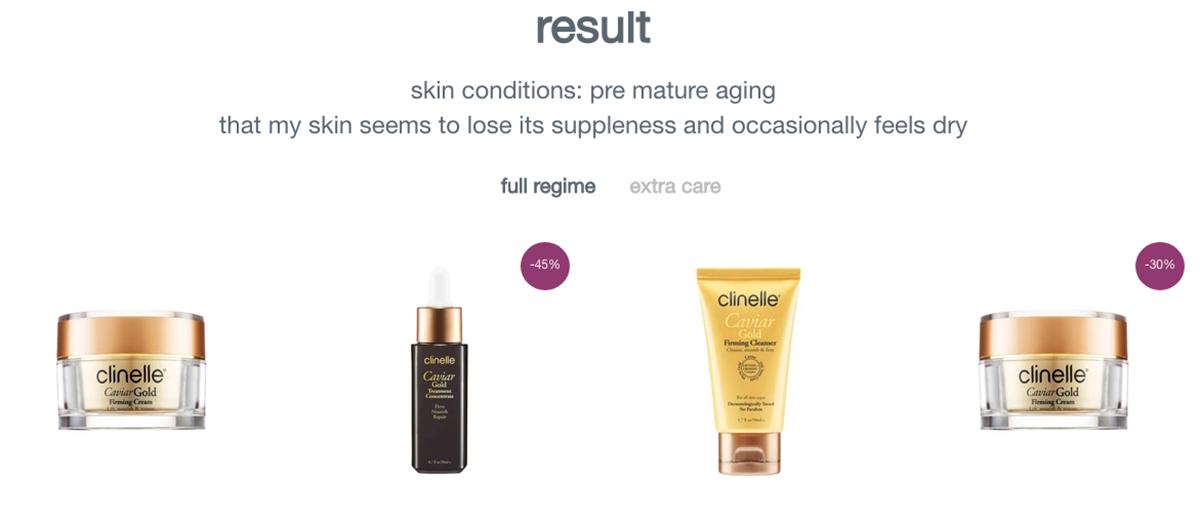 Clinelle Skin Analysis