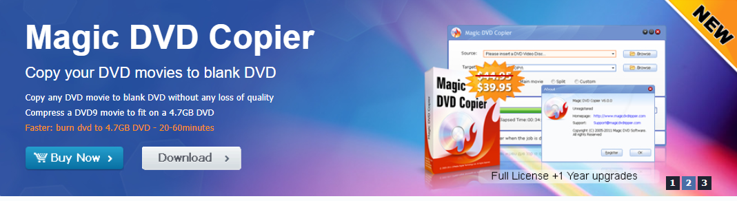 About Magic DVD Homepage