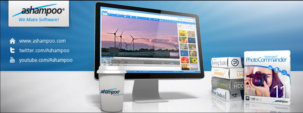 About Ashampoo Homepage