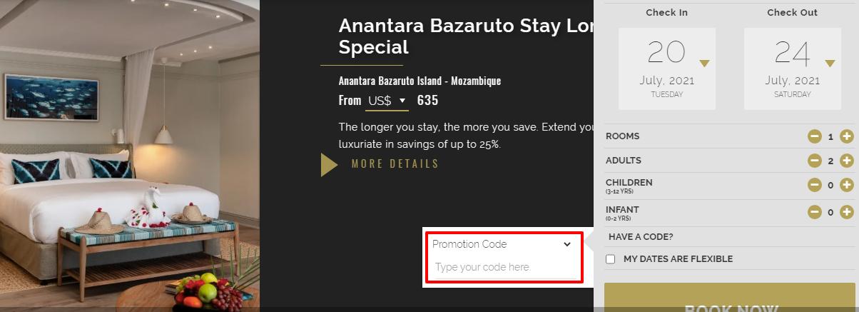 Checkout Anantara Resorts