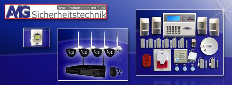 About AMG Sicherheitstechnik homepage