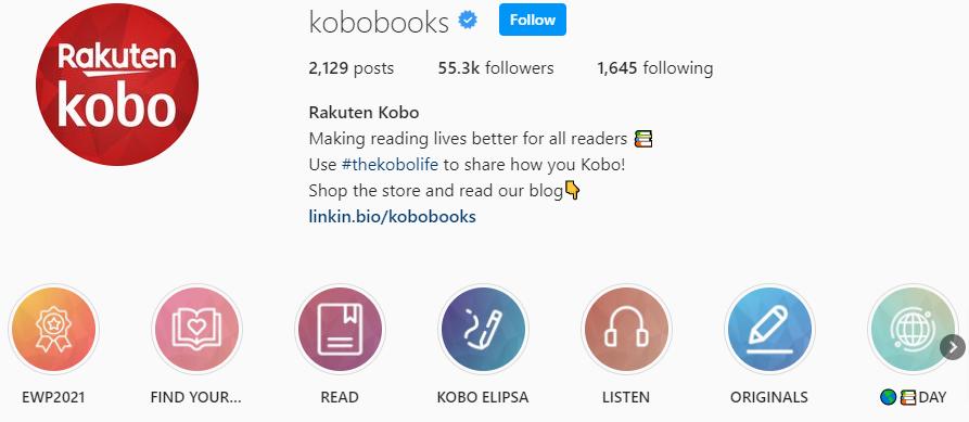 Kobo Instagram
