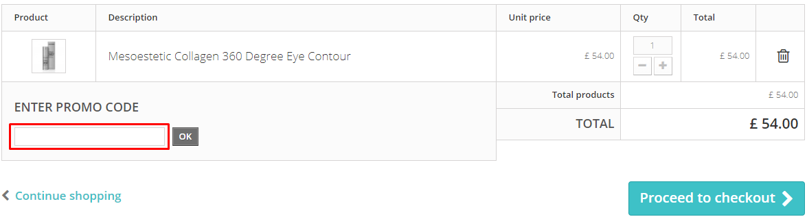 How do I use my Face the Future coupon code?