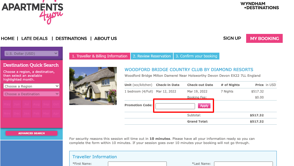 apartments4you promotion 3