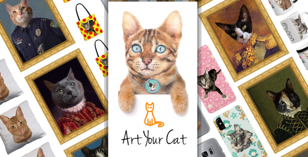 About Art Your Cat Homepage