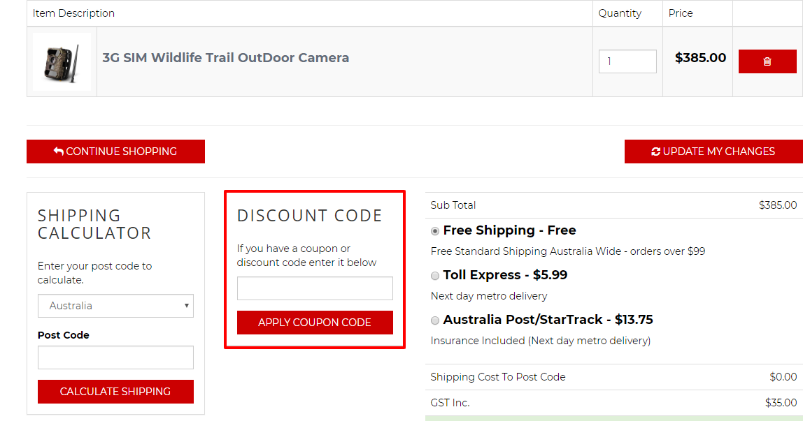 How do I use my The Spy Store discount code?