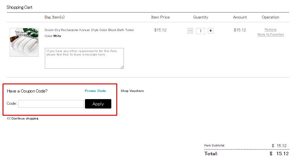 How do I use my Beddinginn discount code?