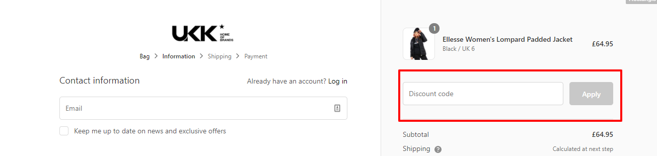 How Do I Use My Discount Code