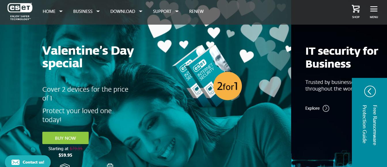 ESET Software Australia Homepage