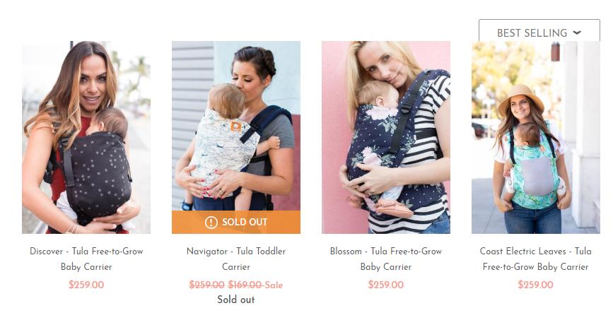 Baby Tula Australia Best Sellers