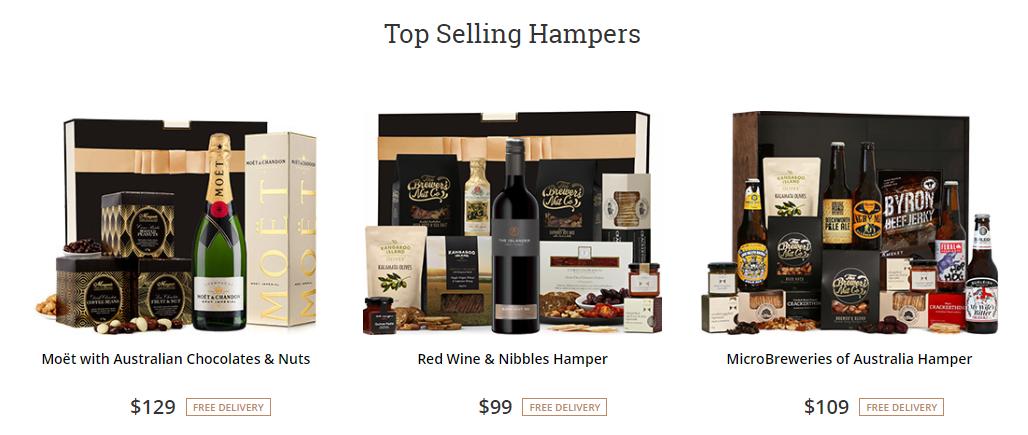 The Hamper Emporium Best Sellers