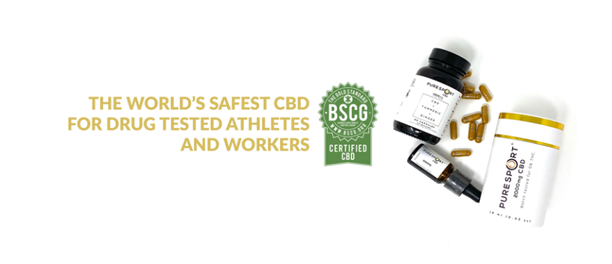 About Pure Sport CBD Homepage