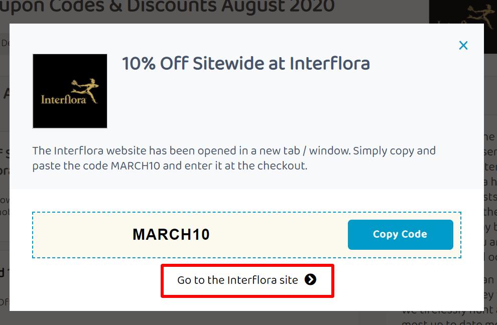 ACMA Interflora go to