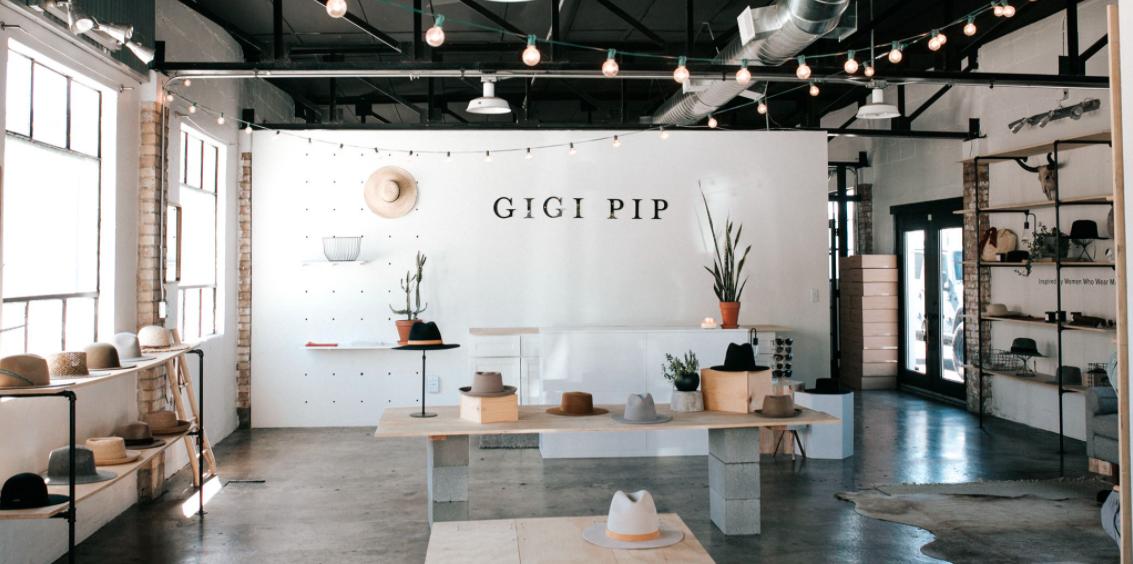 About Gigi Pip Homepage
