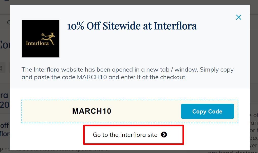 NOWT Interflora go to