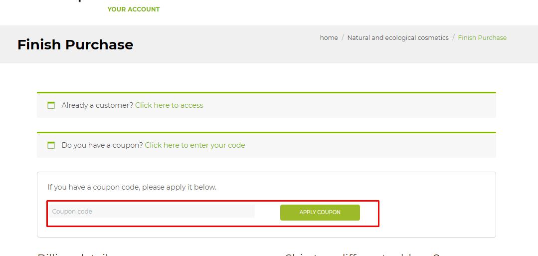 How do I use my Kunaq coupon code?