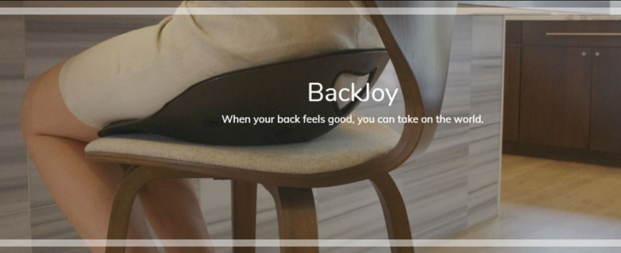 About BackJoy Homepage