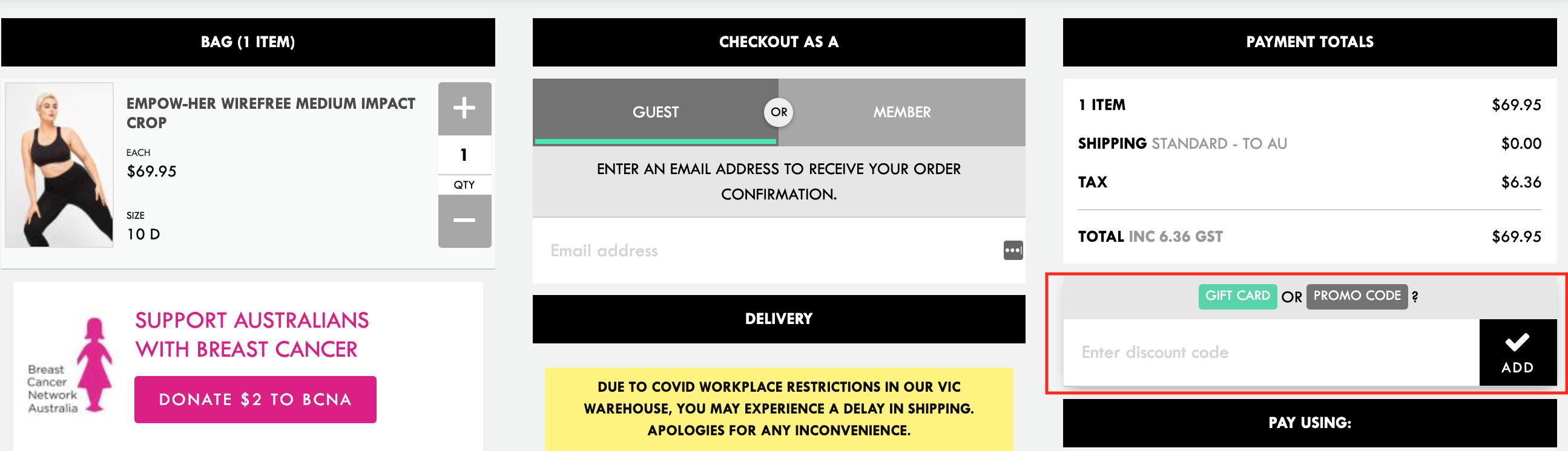 berlei discount code