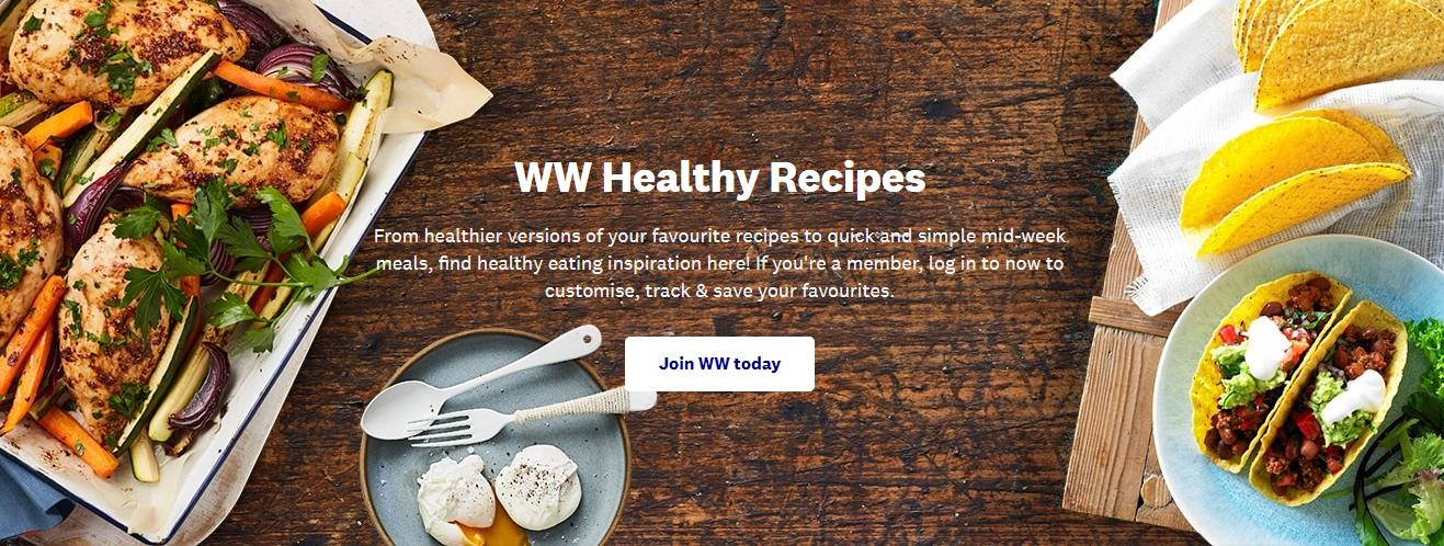 WW Weight Watchers Homepage