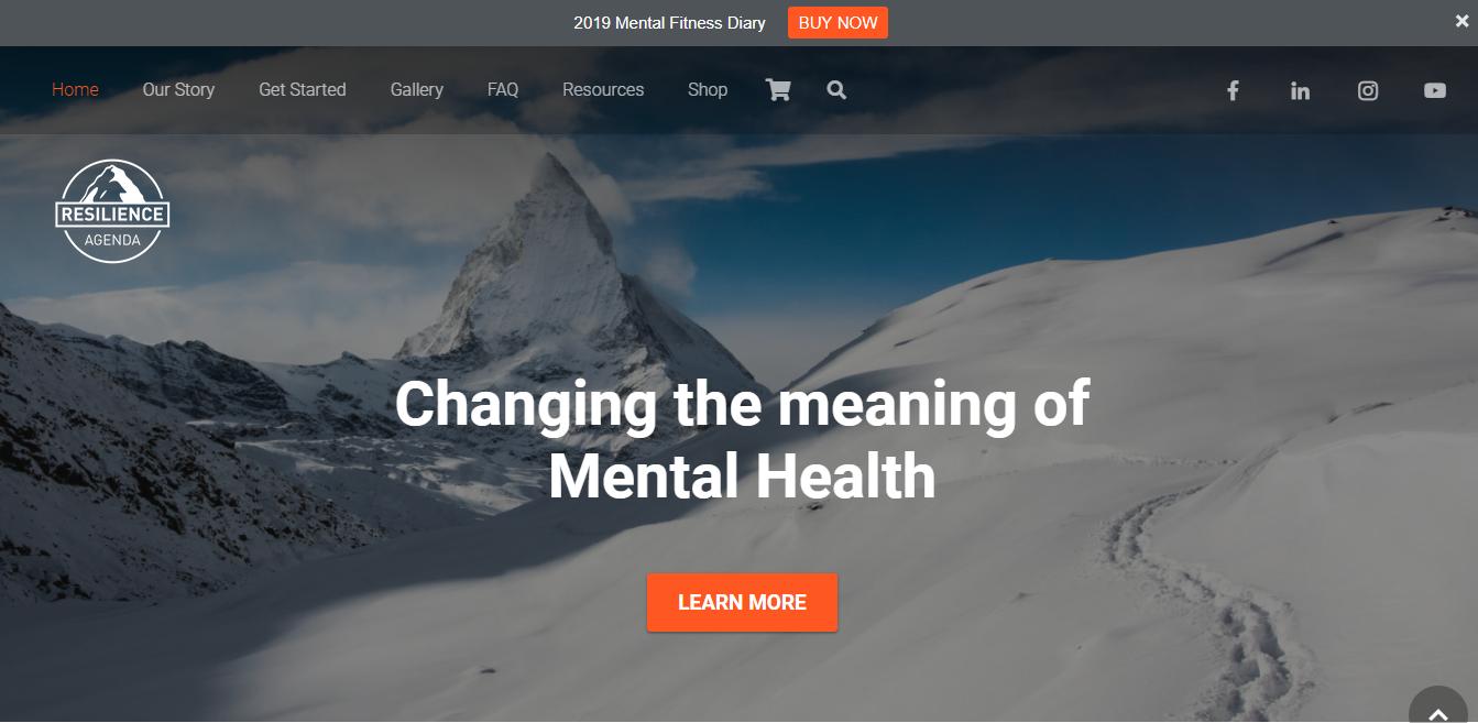 Resilience Agenda Homepage
