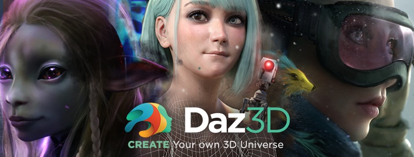 About Daz 3D Homepage