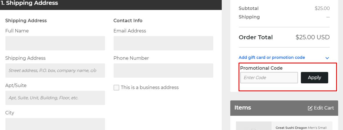 How do I use my DesignByHumans coupon code?