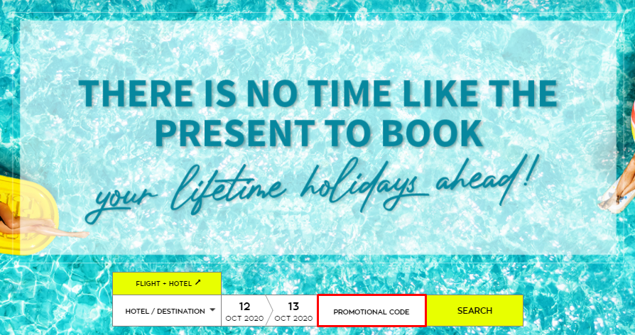 How do I use my BlueBay Hotels promotional code?
