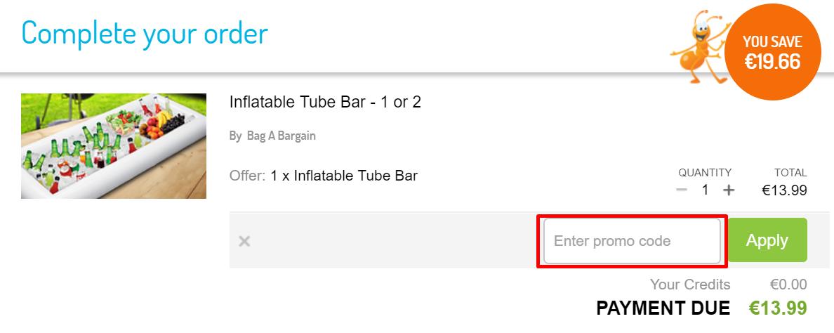How Do I use my GoGroopie discount code?