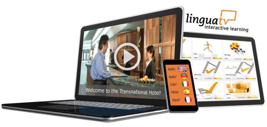 About LinguaTV Homepage