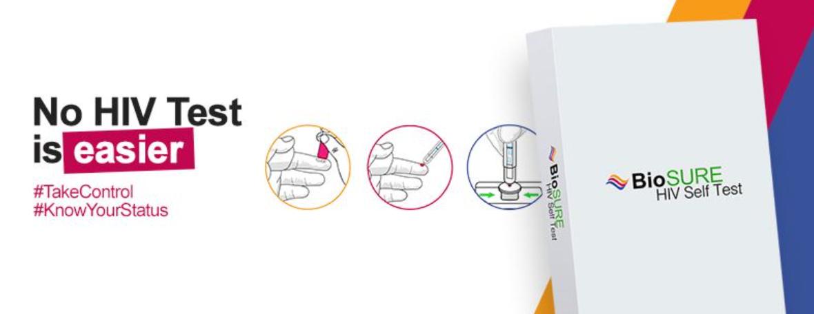 About BioSURE HIV Self Test Homepage