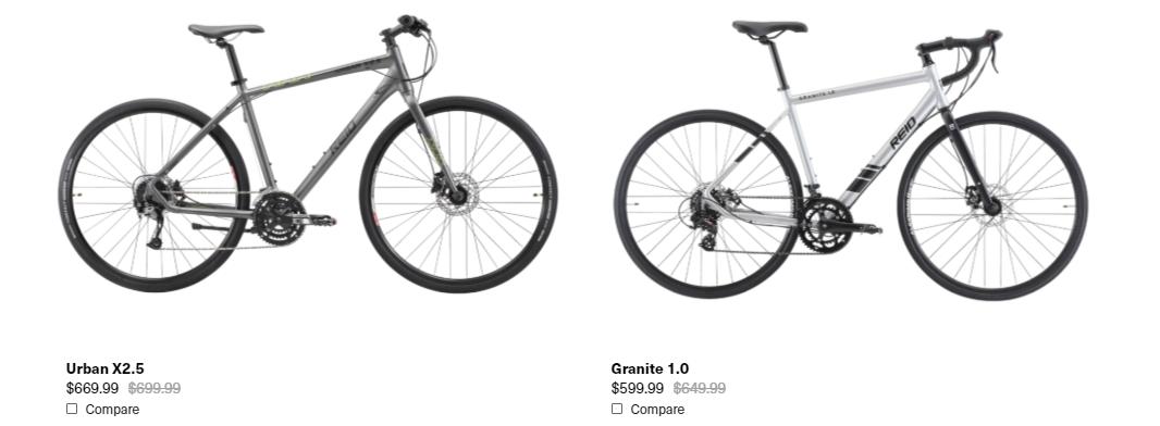 Reid Cycles Sales