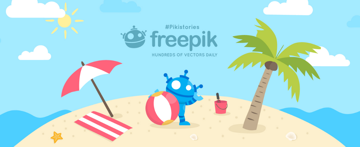 Freepik Homepage