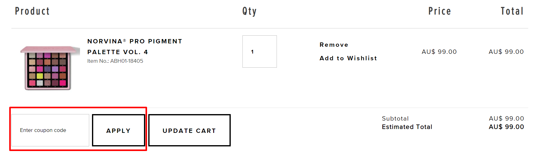 How do I use my Anastasia Beverly Hills coupon code?