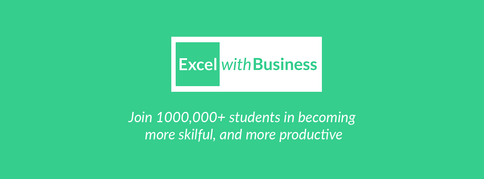About Excel With Business Homepage