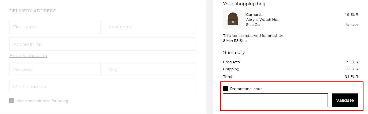 How do I use my Sneakers N Stuff promotional code?