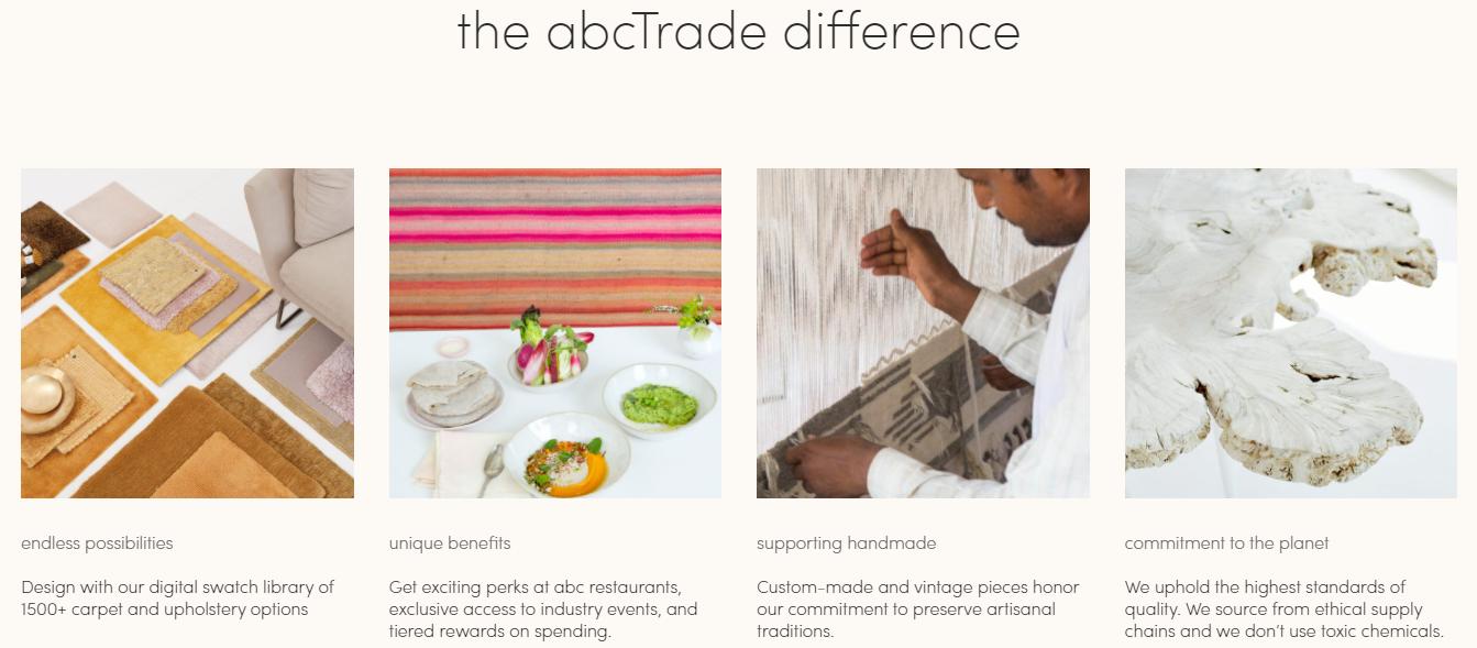 ABC Carpet & Home trade