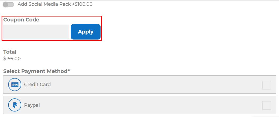 How do I use my Logo Design coupon code?