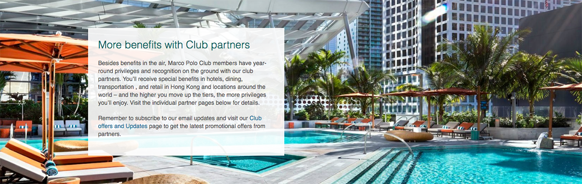 Cathay Pacific Marco Polo Club