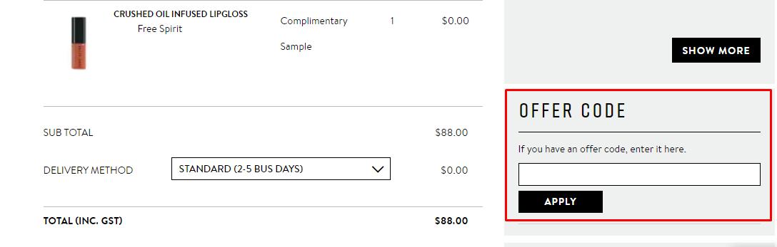 How do I use my Bobbi Brown discount code?