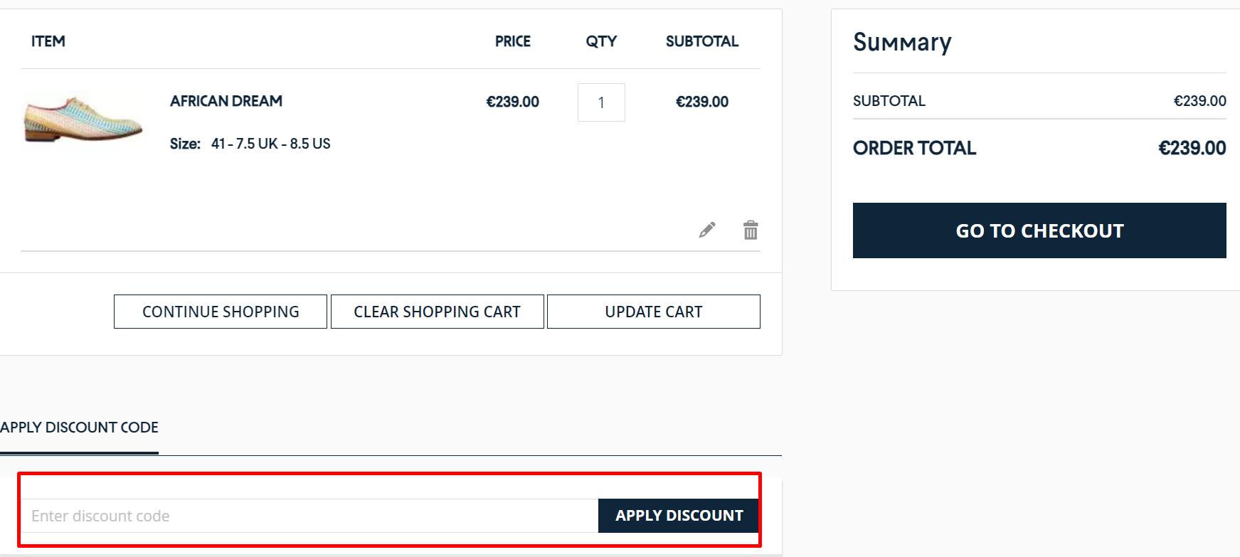 How do I use my Mascolori discount code?